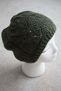 Ravelry: Vine Lace Hat pattern by MG Hirsch  Pattern is currently free on Ravelry!