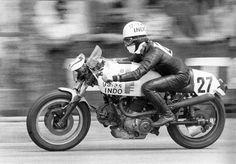 Salvador Canellas en Benjamin Grau 24hrs Montjuic 1973 Ducati 864cc