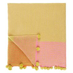 Buy little home at John Lewis Camping Throw Online at johnlewis.com