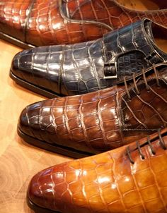 Magnanni Crocodile leather Specials at Zwartjes van 1883 Magnanni Event