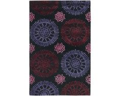 Chandra Rugs Stanton Wool Mix Transitional Rug