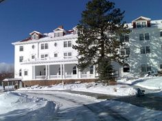 Stay at The Stanley Hotel, Estes Park, Colorado - TripBucket  The Stanley Hotel hosted the horror novelist Stephen King, inspiring him to write The Shining. Parts of the mini-series version of The Shining were filmed there, although Stanley Kubrick's cinematic version was filmed at the Timberline Lodge in Oregon and at Elstree Studios in England. The Stanley Hotel shows the uncut R-rated version of Kubrick's The Shining on a continuous loop on Channel 42 on guest room televisions.