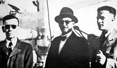 Nazi leader Adolf Eichmann en-route to Argentina in 1950