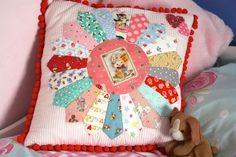Cherry Heart: Cutie Cushion....love!!