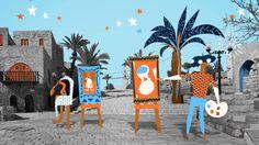 animation . אסף בן ארוש . Assaf Benharroch http://www.youtube.com/watch?v=CNH3UUpIH6Q