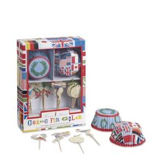 Summer Olympics Cupcake Decorating Kit on Williams-Sonoma.com