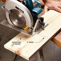 Tips on accurate cuts with circular saws