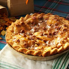A homemade crust will turn your orchard-fresh apple pie into a masterwork. Here's our tried-and-true apple pie crust recipe, that's both flaky and buttery. Homemade Apple Pies, Apple Pie Recipes, Apple Desserts, Sweet Recipes, Best Pie Recipe Ever, Best Apple Pie, Holiday Recipes, Holiday Meals, Christmas Recipes