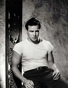 Classic Hollywood / Picture of Marlon Brando #ageless #hollywood