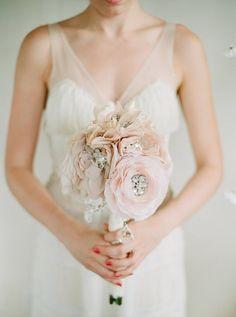 Crystal and Rhinestone Beaded Silk Bridal von abigailgracebridal, $230.00