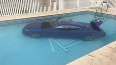 OKALOOSA COUNTY -- Mom thought she'd left the car in park while she ran back to her apartment to get something she'd forgotten. Her husband and child who were waiting in the car would tell you that she did NOT put it into park -- and that's why the car rolled into the pool. (March 2018)