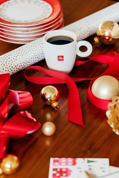 One of my annual holiday traditions is to host a gift wrapping party at our house. K Cups, Holiday Traditions, Celebrations, How To Memorize Things, Gift Wrapping, Entertaining, Make It Yourself, Table Decorations, Creative
