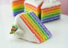 Rainbow cake;3