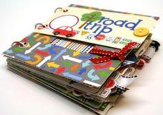 A road trip scrapbook