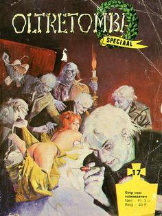 Cover for Oltretomba speciaal (De Vrijbuiter; De Schorpioen, 1973 series) #17