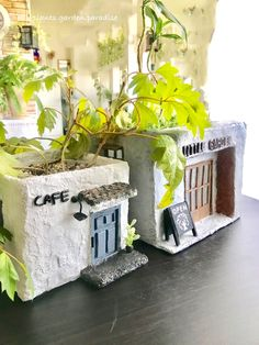 Diy Home Crafts, Garden Crafts, Garden Art, Diy Clay, Clay Crafts, Paper Crafts, Concrete Crafts, Painted Pots, Clay Projects
