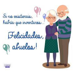 Felicidades abuelos