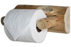Cedar Lake Logger Toilet Paper Holder side view