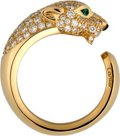 Yellow gold, diamonds, emeralds, onyx
