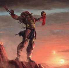 Predator defeats Boba Fett (not sure how I feel about this)