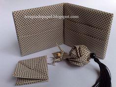 Terapia do Papel: ORINUNO - Origami com Tecido