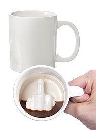 Up Yours - Hidden Message Mug