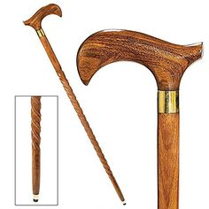 Design Toscano Bend in the Road Solid Hardwood Walking Stick Wandering Road -- You can find out more details at the link of the image.