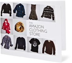 Amazon Gift Card – Print – Amazon Clothing Store « Delay Gifts