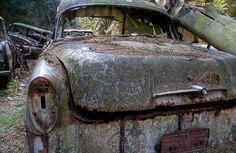Chatillon Car Graveyard, Belgium   Urban Ghosts  