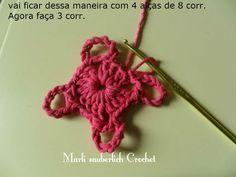 Olá, a querida amiga Marli Sauberlich fez o PAP dessa flor linda do Marce...