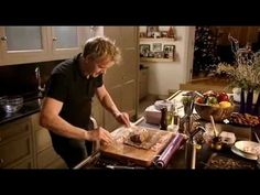 Christmas With Gordon Ramsay Part 2~ Published on Dec 23,2012.Gordon shows there's more to Christmas food than a big bird,with a succulent honey glazed ham with pear and saffron chutney,an amazing Beef wellington to an amazing winter pumpkin soup made with the help of daughters Holly and Tilly