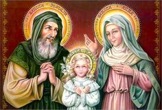 St. Joachim,  St. Anne & Mary