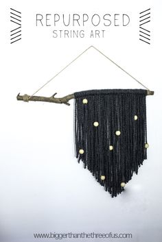 Repurposed :: Yarn Wall Hanging