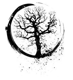 Tree Tattoo.. put that over an open book and I WANT!