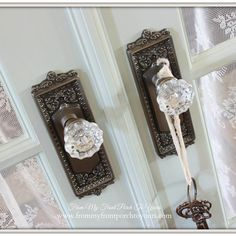 Nostalgic Warehouse Egg & Dart escutcheon with Crystal Door Knobs in Antique Pewter finish