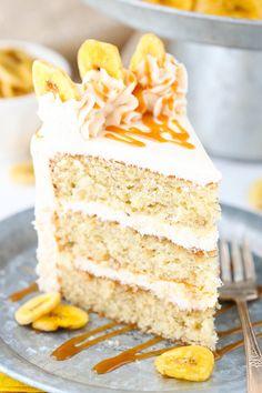CARAMEL BANANA LAYER CAKEReally nice recipes. Every hour.Show me  Mein Blog: Alles rund um Genuss & Geschmack  Kochen Backen Braten Vorspeisen Mains & Desserts!