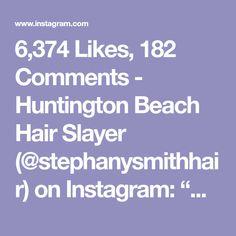 "6,374 Likes, 182 Comments - Huntington Beach Hair Slayer (@stephanysmithhair) on Instagram: ""Glitterazzi✨ ''Tis the season for some fun holiday hair! I used @pulpriothair #blondeaf with…"""