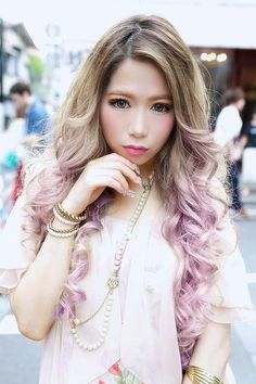 this is what i wanted my hair to look like- unfortunately it never looked like this