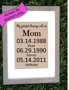 Christmas or holiday gift for mom, Mothers Day Sign. Mothers day sign fit for a queen! This sentimental gift is perfect for any mom. What a great Mothers Day or Birthday gift that will be remembered f Diy Gifts For Mom, Diy Mothers Day Gifts, Mother Gifts, Homemade Gifts, Mothers Day Signs, Mothers Day Crafts For Kids, Diy Mother's Day Crafts, Mother's Day Diy, Kid Crafts
