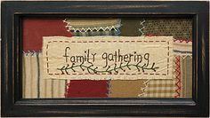 """Family Gathering"" Sampler - Kruenpeeper Creek Country Gifts"