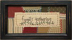 """""""Family Gathering"""" Sampler"""