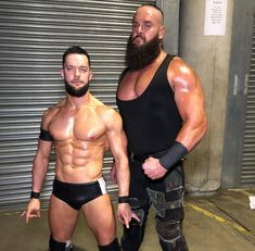 Finn Balor and Braun Strowman