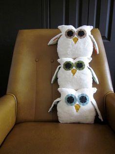 Owlet custom order by #hilarycosgrove on #Etsy | #allthingsEtsy Favorite Etsy Owl Finds: Plush Owls