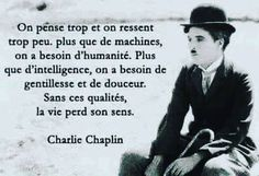Hi 🙏A great quote to ponder, now in our table www. French Quotes, Magic Words, Charlie Chaplin, Positive Attitude, Quotes Positive, My Mood, Some Words, Good Thoughts, Meaningful Quotes