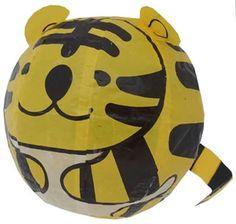 Japanse papieren ballon-tijger