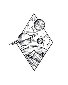 Doodle art 738731145115371515 - Source by Space Drawings, Pencil Art Drawings, Cool Art Drawings, Doodle Drawings, Art Drawings Sketches, Tattoo Sketches, Tattoo Drawings, Drawing Ideas, Drawing Drawing