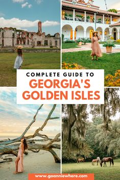 Georgia's Golden Isles is a place of serene and captivating beauty. Find out why you have to visit Georgia's Golden Isles! #exploreGeorgia #GoldenIsles #GeorgiaTourism #travelGeorgia #GeorgiaGoldenIsles #GeorgiaUSA #USATravel #visittheUSA