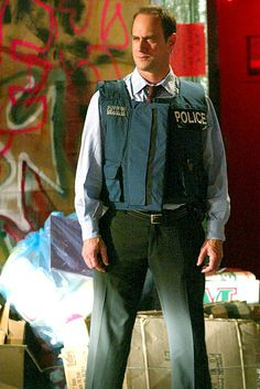 Chris Meloni As Det. Elliot Stabler in Law and Order: Special Victims Unit.  The show IS NOT THE SAME without him.