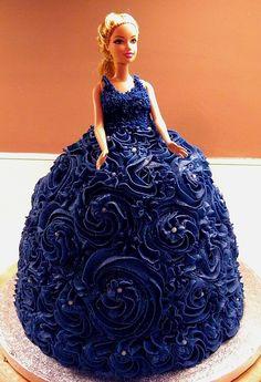 barbie theme cake  Order Now!!  http://cakesandcupcakesmumbai.com/2012/12/07/100-best-barbie-doll-theme-princess-birthday-anniversary-cakes-cupcakes-mumbai/#