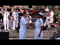 """Jersey Boys sing """" Four Seasons"""" Selections - Recorded by the U. Navy Band at the Concerts on the Avenue series at the U. Navy Memorial in Songs To Sing, Music Songs, Music Videos, Us Navy Band, Navy Memorial, Frankie Valli, 60s Music, Navy Sailor, Jersey Boys"""
